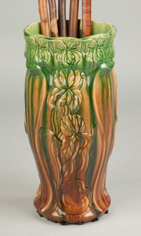Majolica Umbrella Stand