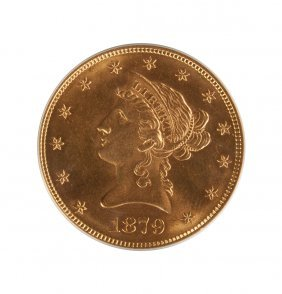 1879 Liberty Head Ten Dollar