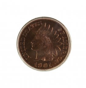 1901 Indian Head One Cent