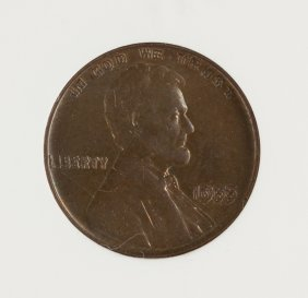 1955 Double Die Lincoln One Cent