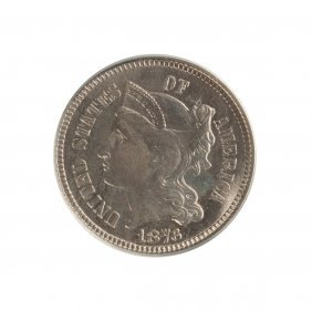 1876 Nickel Three Cent