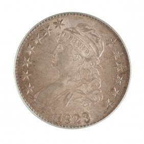 1823 Capped Bust Fifty Cent