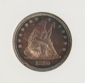 1880 Twenty Five Cent