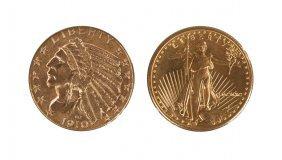 Five Dollar Coin & Ten Dollar Coin
