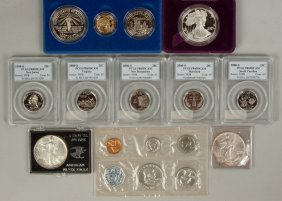 Group Of Proof Sets And Various Coins