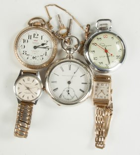Various Pocket Watches & Wristwatches