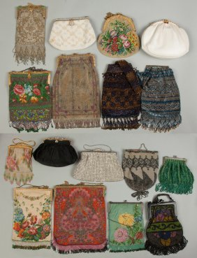 Group Of Seventeen Vintage Purses