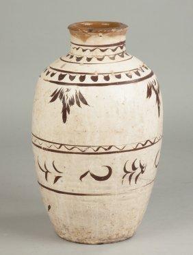 Middle Eastern Terra Cotta Vase