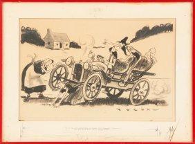 Paul Webb (american, Born 1902) Illustration Of A