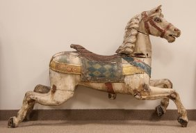 Carved & Painted Carousel Horse