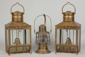 Three Brass Lanterns