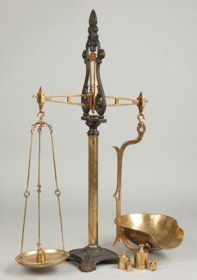 Henry Troemner, Philadelphia, Brass & Cast Iron Scale