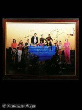 �Glee� Autographed Framed Poster
