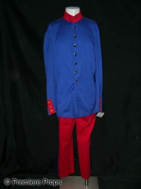 Ted Cassidy Full Military Uniform From The Last Rem