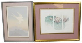 LOT OF TWO FRAMED PRINTS