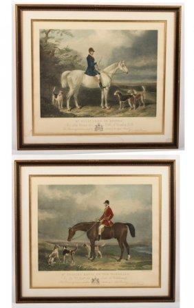Pair Of 20th C. English Sporting Engravings