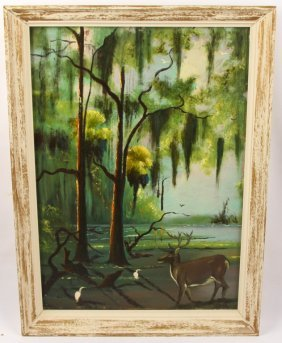 Johnny Daniels '60s Florida Woodland Scene
