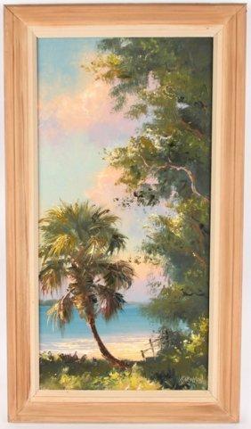 Harold Newton Florida Highwaymen Coastal Landscape