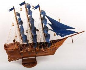 Mayflower Replica Wooden Ship