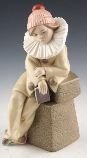 "Lladro ""little Jester"""