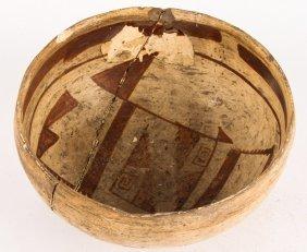 20th C. Polychrome Hopi Bowl