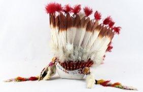 Native American Beaded Headdress