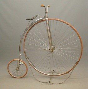 "C. 1880's Columbia ""All Bright"" Highwheel Bicycle"