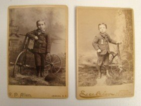 Lot Of Cabinet Cards