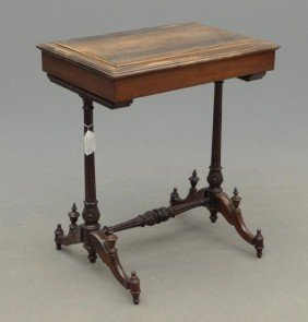 19th C. Roux Rosewood Table