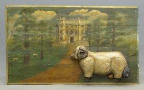 English Manor Painting
