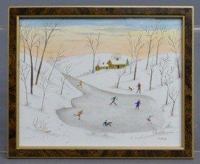 Evelyn Dubiel Watercolor