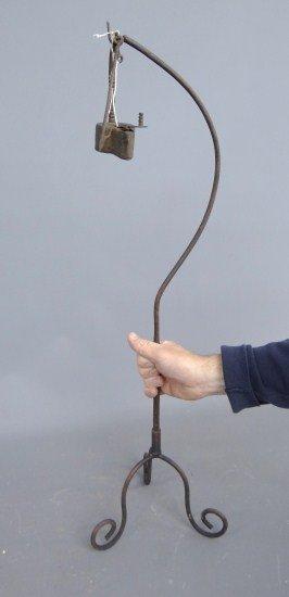 19th C. Betty Lamp