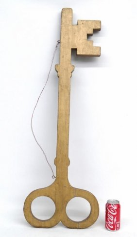 Locksmith Key Trade Sign
