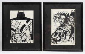 Original Batman Comic Artwork