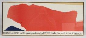 Helen Frankenthaler Poster