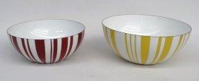 Catherine Holme Enameled Bowls