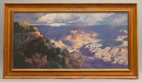 Reproduction Painting Of The Grand Canyon