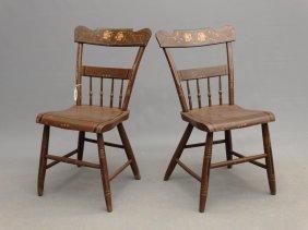 Pair 19th C. Chairs