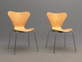 Pair Modern Design Chairs