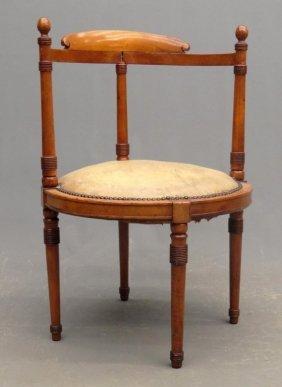 19th C. Victorian Corner Chair