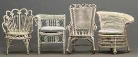 Wicker Chair Lot