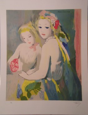 LAURENCIN Marie Lithograph In Colors