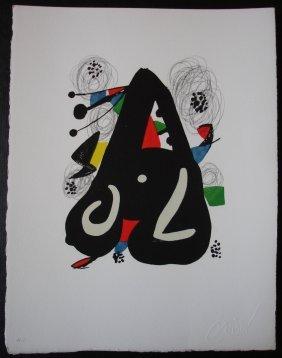 MIRO Joan La Melodie Acide N� 1120 Circa 1980