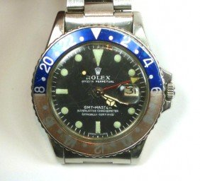 ROLEX OYSTER PERPETUAL GMT MASTER CHRONOMETER