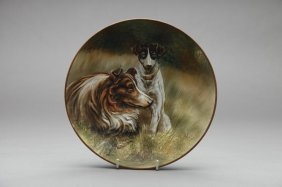 NIPPON MOULDED DOG PLAQUE
