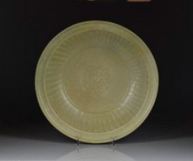 Longquan Celadon Glazed Dish