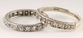 A Twenty One Stone Diamond Eternity Ring, The Old