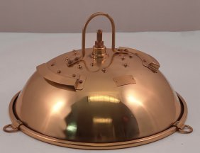 Solid Brass British Royal Navy Mess Room Light.