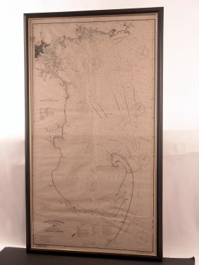 1902 Chart Of Massachusetts