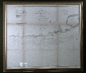 19th Century Chart Key Largo